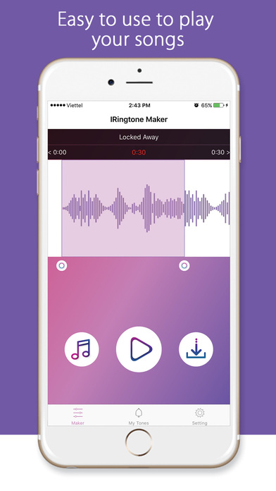 Ringtone Maker - Create ringtones for your iPhone Скриншоты5