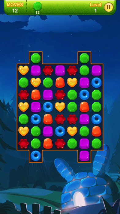 Screenshot 2 candy lands — puzzle games for free