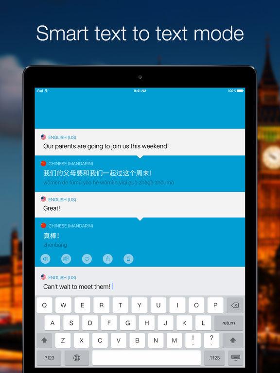 Screenshot #3 for Speak & Translate - Voice and Text Translator
