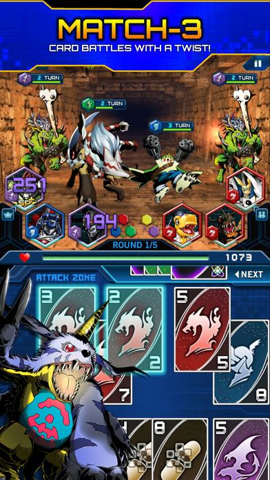 Digimon Heroes! Screenshot