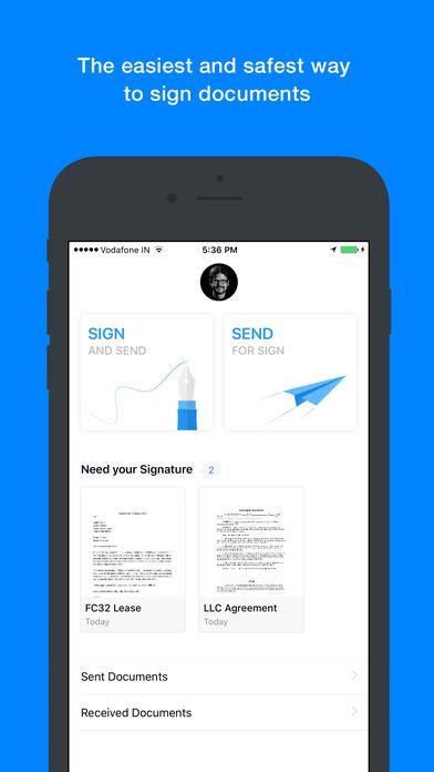 Zoho Sign: Digitally Sign Docs screenshot 1