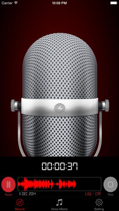 HD Audio Recorder Pro : Voice Recording & Playback Screenshots