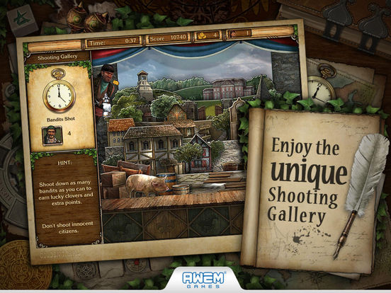 Screenshot #4 for Golden Trails 2: Hidden Object Adventure (Premium)
