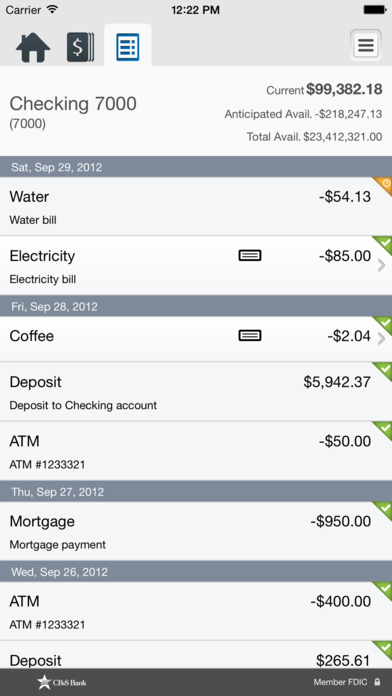 CB&S Bank Business Mobile screenshot 4