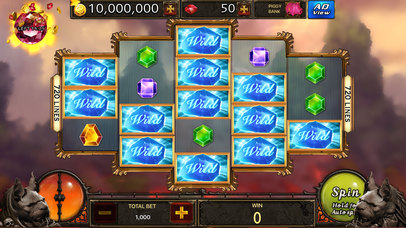 Screenshot 1 Slots — Super #1 Largest Heroes Casino
