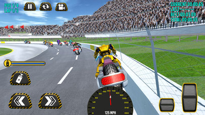 Superheroes Moto Bike Racing screenshot 3
