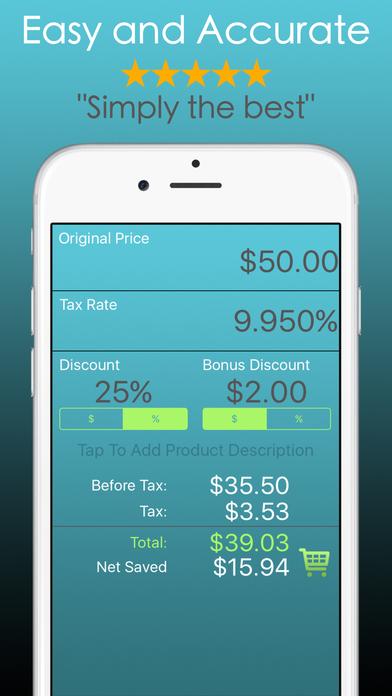 Discount Calculator PRO - Sale Price Check Percent Screenshots
