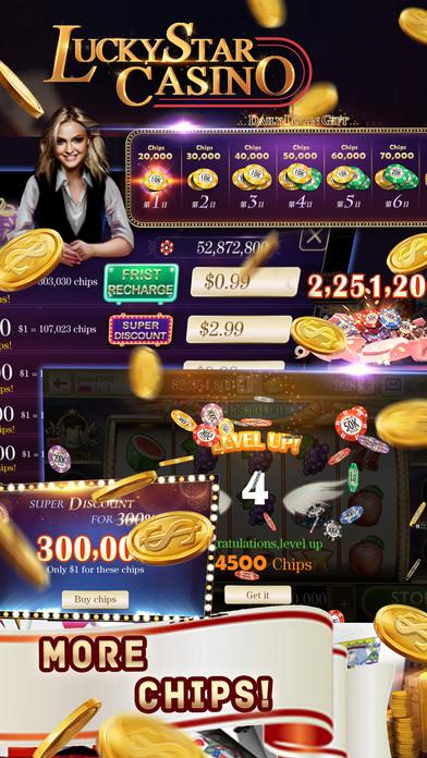 Screenshot 5 Lucky Star Casino–Vegas Slot Machines &Poker Games
