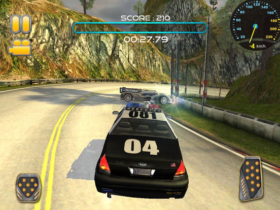 Police Car Chase:Off Road Hill Racing screenshot 5