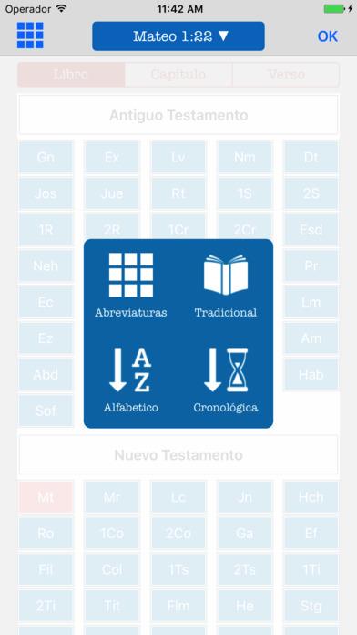 Biblia Bilingüe Inglés Español - KJV Reina Valera screenshot 3