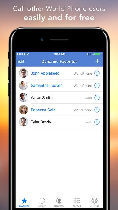 World Phone screenshot 4