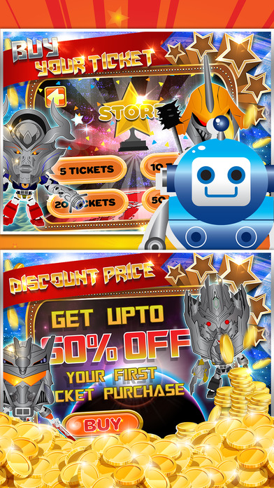 Screenshot 2 Cosmo Robot Bingo Casino Vegas