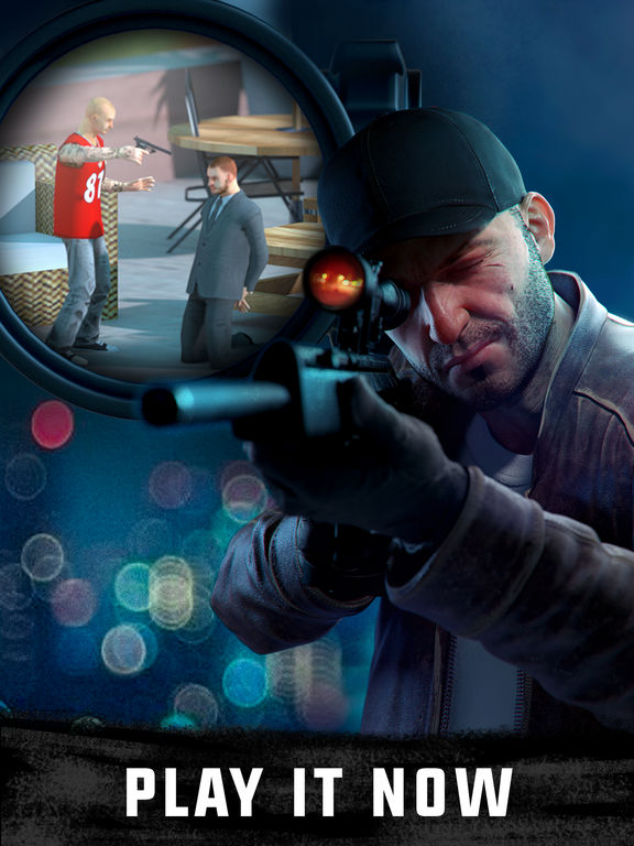Sniper 3D Assassin: Shoot to Kill Gun Gamescreeshot 1