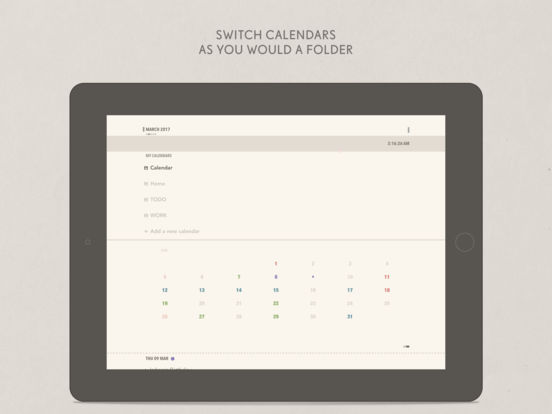 mojipad - Text Calendar Screenshots