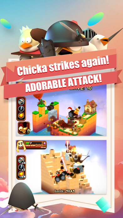 3DTD: Chicka Invasion screenshot 4