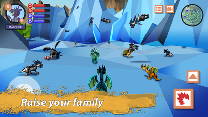 Dragon Family Simulator Full screenshot 3
