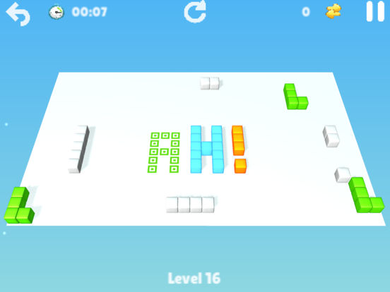 Cubes : brain teaser Screenshots