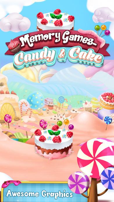 Memory Game : Cake and Candy screenshot 4
