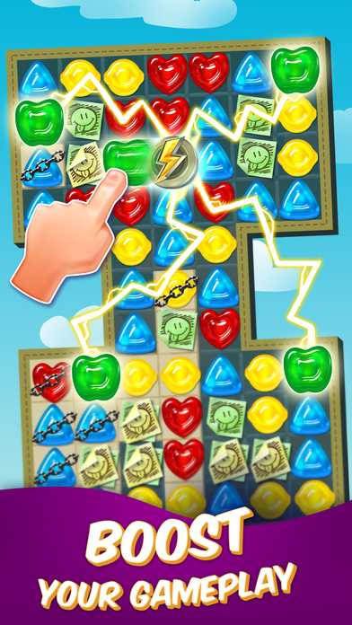 Gummy Drop! – A Match 3 Puzzle Game iPhone