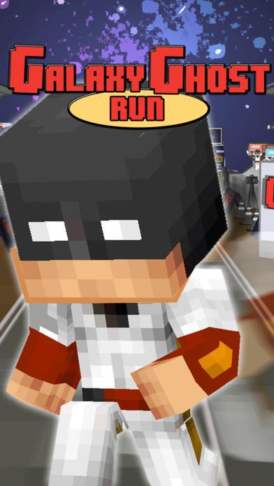 Ghost Heroes Block Run Pro Screenshot 1