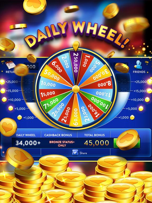 Heart of Vegas Slots Casino iPad