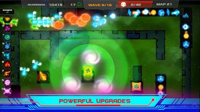 Galaxy Glow Defense screenshot 2