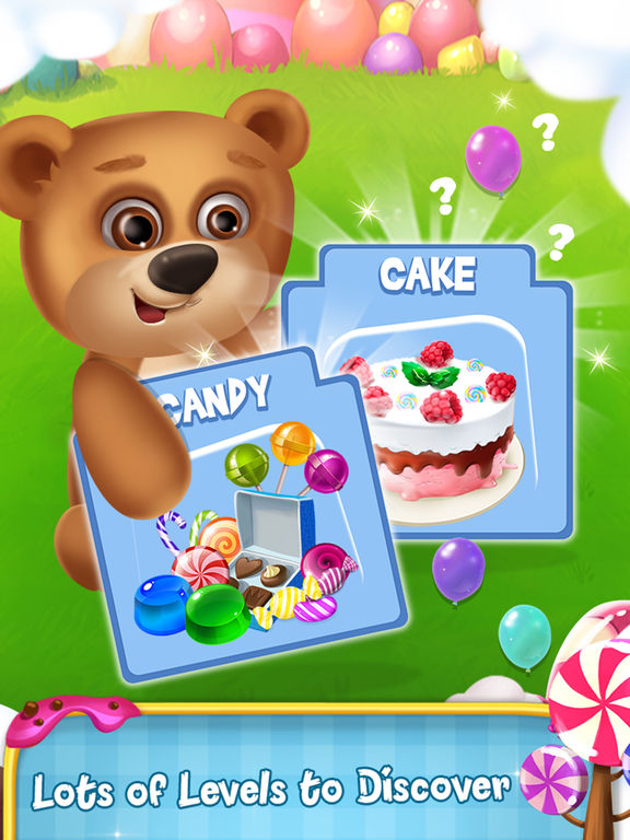 Memory Game : Cake and Candy screenshot 7