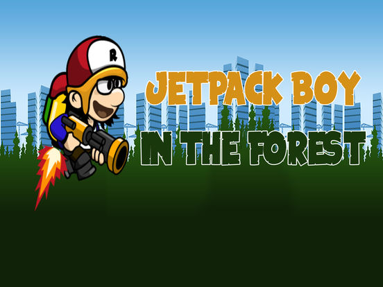 Jetpack Boy In The Forest screenshot 5