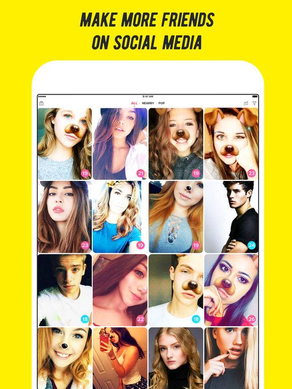 Screenshots of Flamingo-Get Friends,Views & Random Video Chat App for iPad