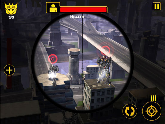 US Army Sniper Robots Futuristic Battle screenshot 8