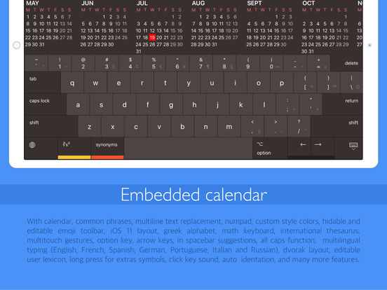 Pro Keyboard - Pc layout for professionals users 앱스토어 스크린샷