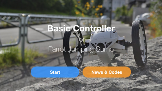 Basic Controller for Jumping Sumo Screenshots