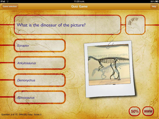 Dinosaur Book HD: iDinobook Screenshots