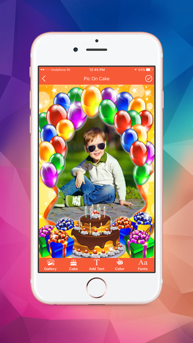 Name and Photo on Birthday Cakes screenshot 3