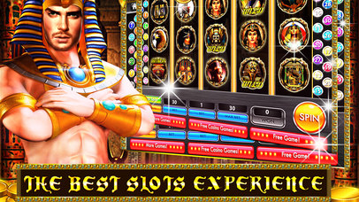 Screenshot 1 Queen Cleopatra & Caesars Era — Vegas Casino Slots