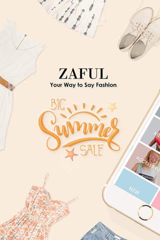 Zaful: Your Way To Say Fashion screenshot 1