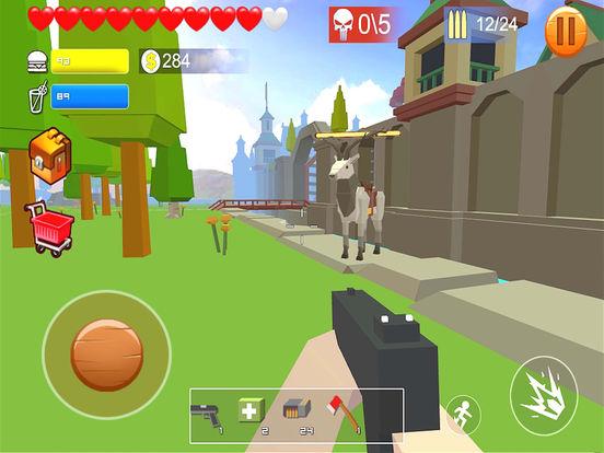 Pixel shooting zombie screenshot 9