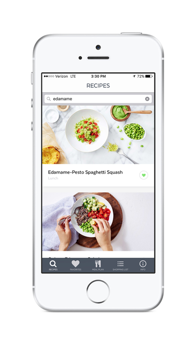 Clean-Eating Plan and Recipes screenshot 1