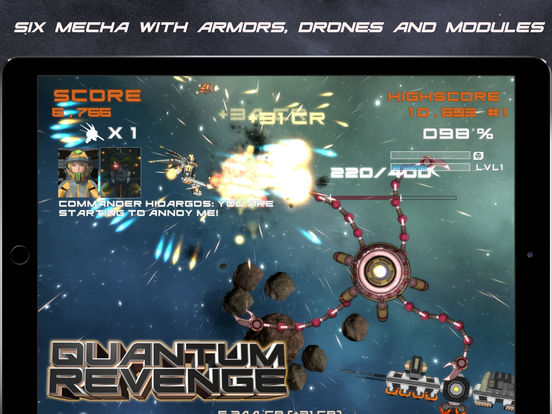 Quantum Revenge Lite screenshot 10