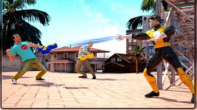 Fidget Spinner Superhero Street Battle screenshot 1