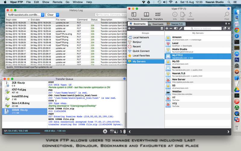 Viper FTP for Mac