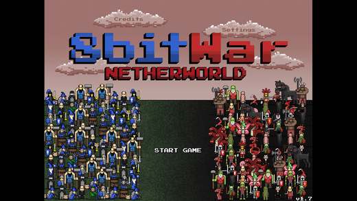 8bitWar: Netherworld Screenshots