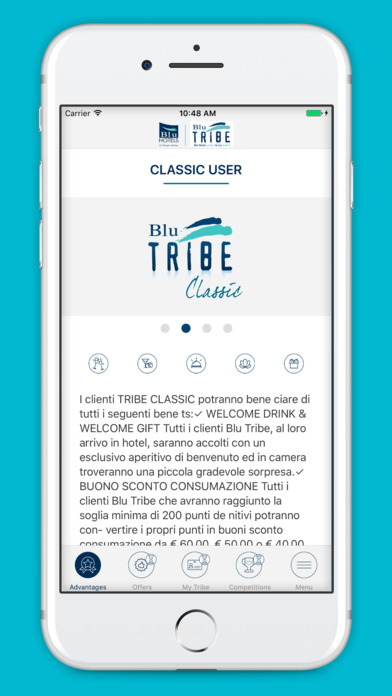Blu Tribe screenshot 2