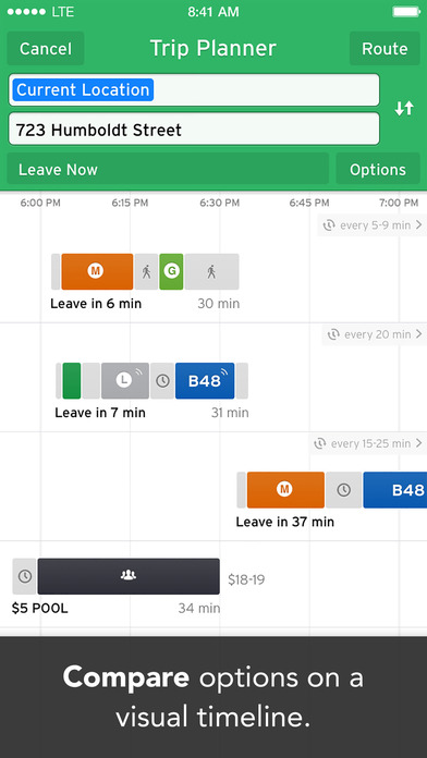download Transit • Real-Time App for Bus, Subway & Metro apps 0