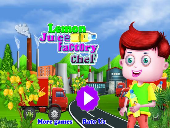 Lemon Juice Factory Chef screenshot 10