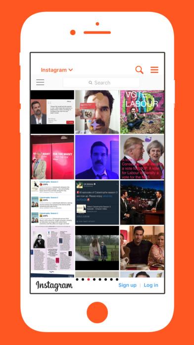 The IAm Rob Delaney App screenshot 2