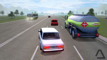 Russian Road Racer Pro Скриншоты4