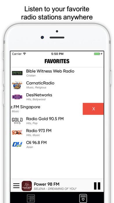 Радио Сингапур : singaporean radios FM Скриншоты4