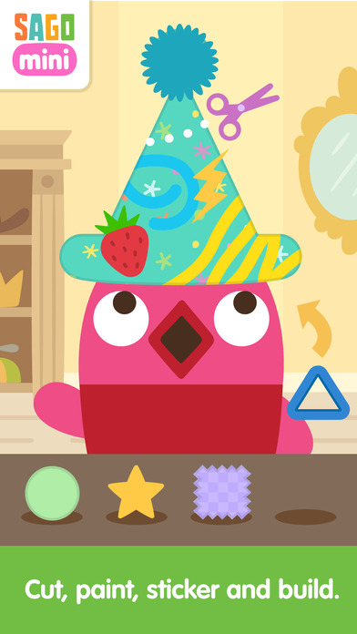 Sago Mini Hat Maker screenshot 2