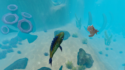GIANT OCEAN MONSTER - FEED AND GROW FISH screenshot 4